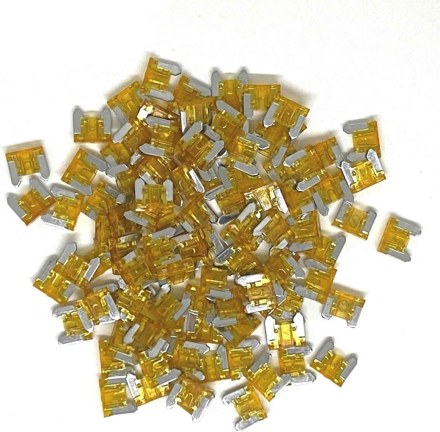 100pcs Low Profile 2021 Product spring and summer new Mini Micro Blade Fast 5A Fuse for Auto Blow