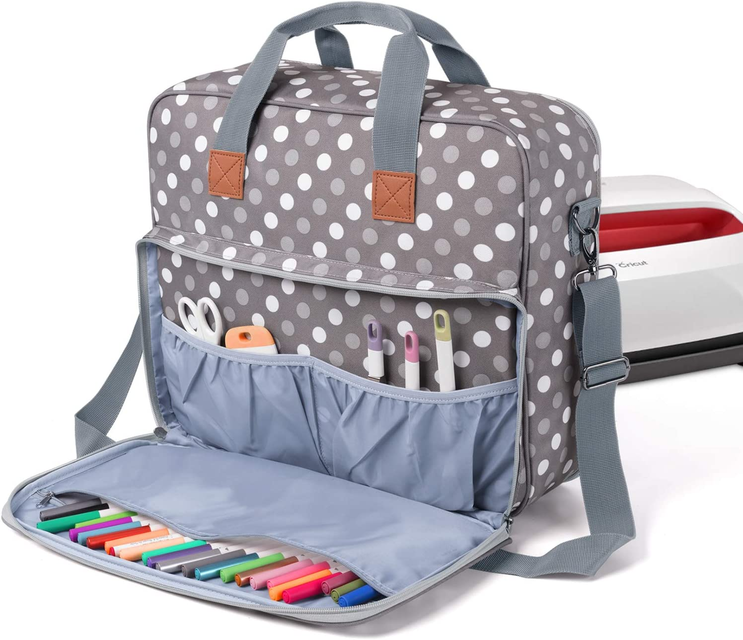 Luxja wholesale Carrying Case for Cricut Easy Press Ba Inexpensive 2 Tote x 12