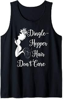 Dinglehopper Hair Don't Care Mermaid Funny Dingle Hopper Tank Top