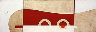 Decorativo dipinto astratto. Dipinto a mano 50x150cm. Spedizione gratuita!