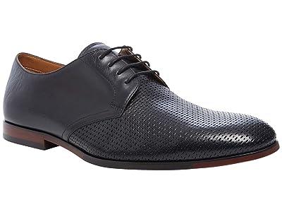 Steve Madden Elixer Oxford (Black Leather) Men