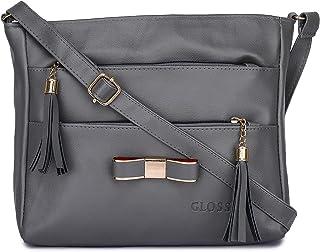 GLOSSY Girls' Sling Bag (uf777089_Grey)