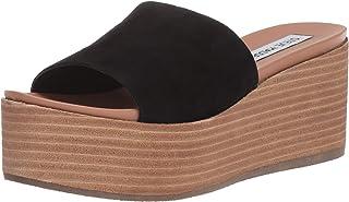 Steve Madden Women's Heated Wedge Sandal