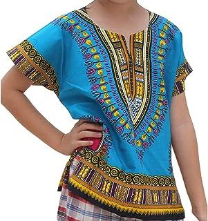 Sanmomo Kids Hipster Premium Tees Print Shirt Fashion Tops for Boys and Girls Blue