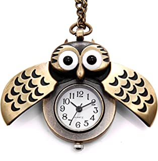 Best owl watch necklace Reviews