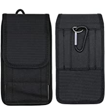 Black Belt Clip Phone Holder Waist Bag Nylon Vertical/Horizontal Case for Leagoo Z10 T1 Z5 Z6 Z7 Z9 / Elite Y 5