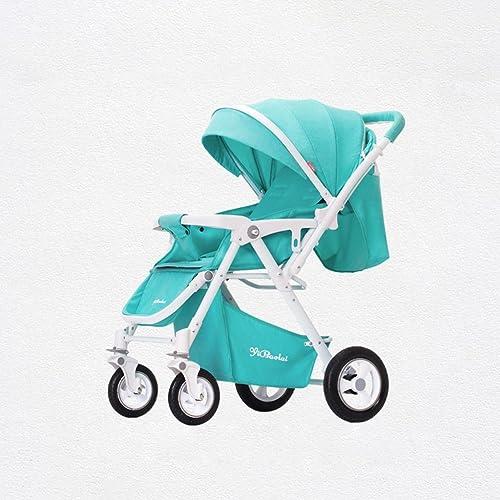 el estilo clásico El cochecito de bebé puede sentarse cochecito cochecito cochecito de bebé portátil reclinable ligero del cochecito de bebé (azul) los 76  42  102cm  selección larga