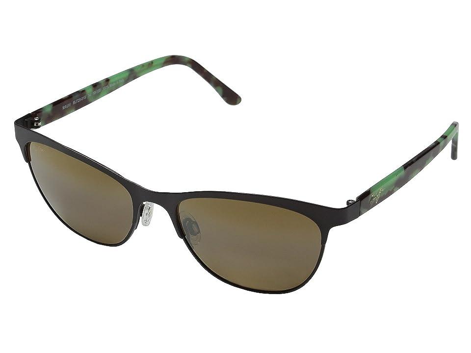 Maui Jim Popoki (Satin Chocolate) Fashion Sunglasses