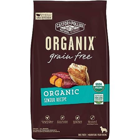 Castor & Pollux Organix Grain Free Dry Dog Food Organic Senior Recipe