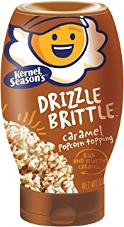 Kernel Season's Drizzle Brittle Popcorn Topping, Caramel, 13.1 Ounce