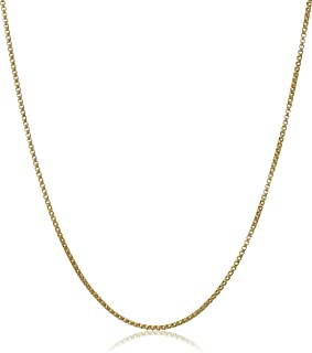 18 in. Adjustable Necklace, 14kt Gold Plated