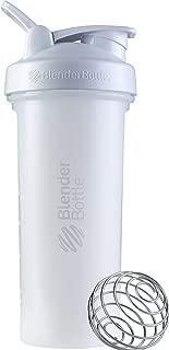 BlenderBottle C03597 Classic V2 Shaker Bottle, 28oz, White