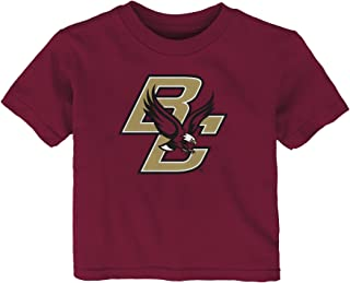 Outerstuff NCAA Boston College Eagles Infant Primary Logo Short Sleeve Tee, 12 Months, Garnet