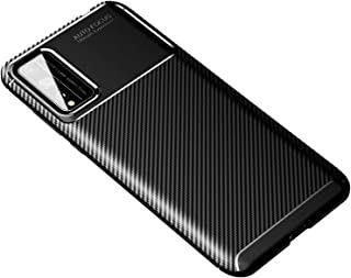 Soosos Case for Huawei Honor Play 4T Pro Case Carbon Fiber Ultra thin TPU Soft Silicone Shockproof Anti-fall Cell phone Pr...