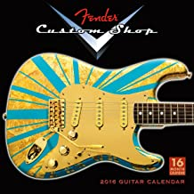Best fender custom shop calendar 2016 Reviews
