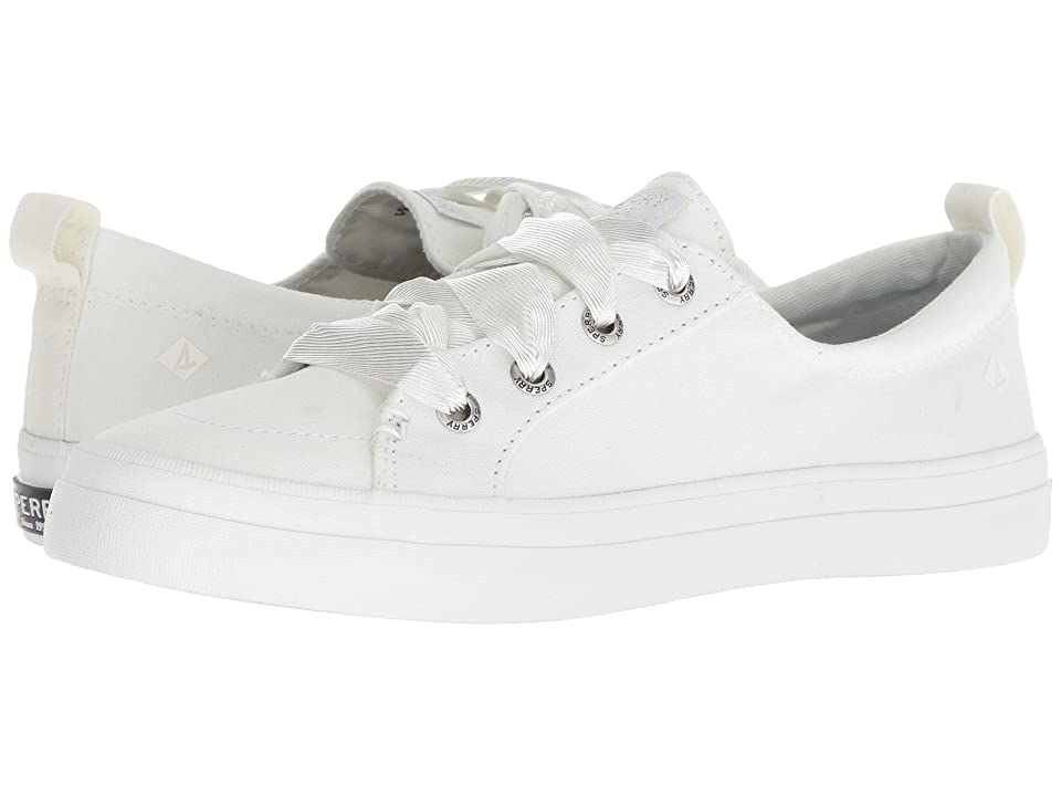 Sperry Crest Vibe Satin Lace (White) Women