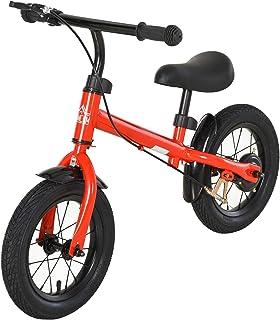 comprar comparacion HOMCOM Bicicleta sin Pedales Altura Ajustable con Llantas de Goma Inflables para Niños Mayores de 3 Años Asiento Acolchado...