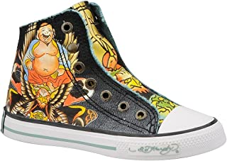 ed hardy highrise sneakers