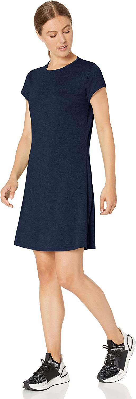 Soft Workout Cap Sleeve Tennis Dress tennis-dresses Donna Marchio Core 10