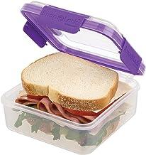 Progressive International SNL-1017P Sandwich Container, Purple