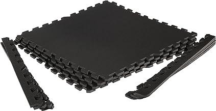 Beschermende matten fitnessruimte. Puzzelmat sport voor fitness en krachttraining. Voor training thuis en in de sportschool.