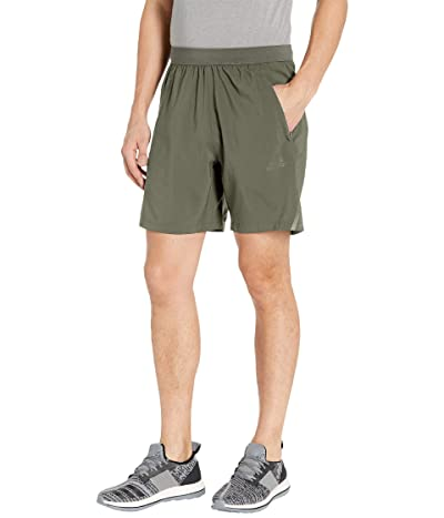 adidas AEROREADY 3-Stripes 8 Shorts (Legacy Green) Men