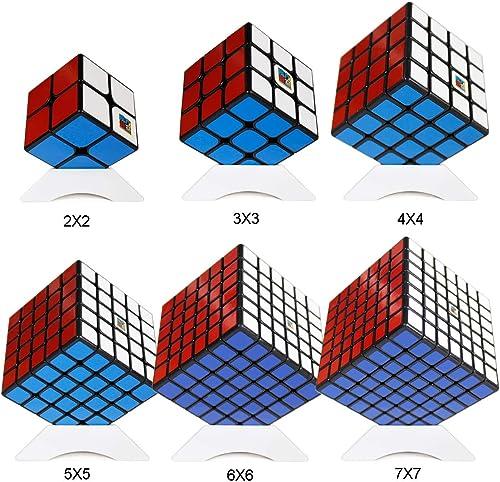 tienda en linea OJIN MoYu MOFANGJIAOSHI Aula DE Cubo Paquete de de de Cubo de Velocidad 2x2 3x3 4x4 5x5 6x6 Rompecabezas de Cubo mágico de 7x7 Juego de Cubos con Embalaje de Regalo + Seis trípodes de Cubo  perfecto