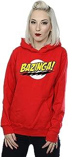 The Big Bang Theory Women's Sheldon Bazinga Hoodie