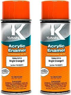 Kubota 2 PK Genuine OEM Orange Touch Up Paint 70000-73713