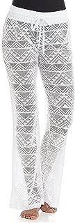 Women's Crochet Lace Swim Pants Cover Up