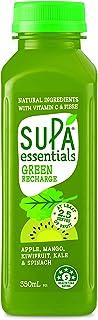 Supa Essentials Juice, Green Recharge, 15 x 350 ml