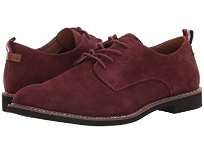 Tommy Hilfiger Garson (Dark Red Suede) Men