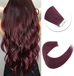 Best burgundy remy hair extensions Reviews
