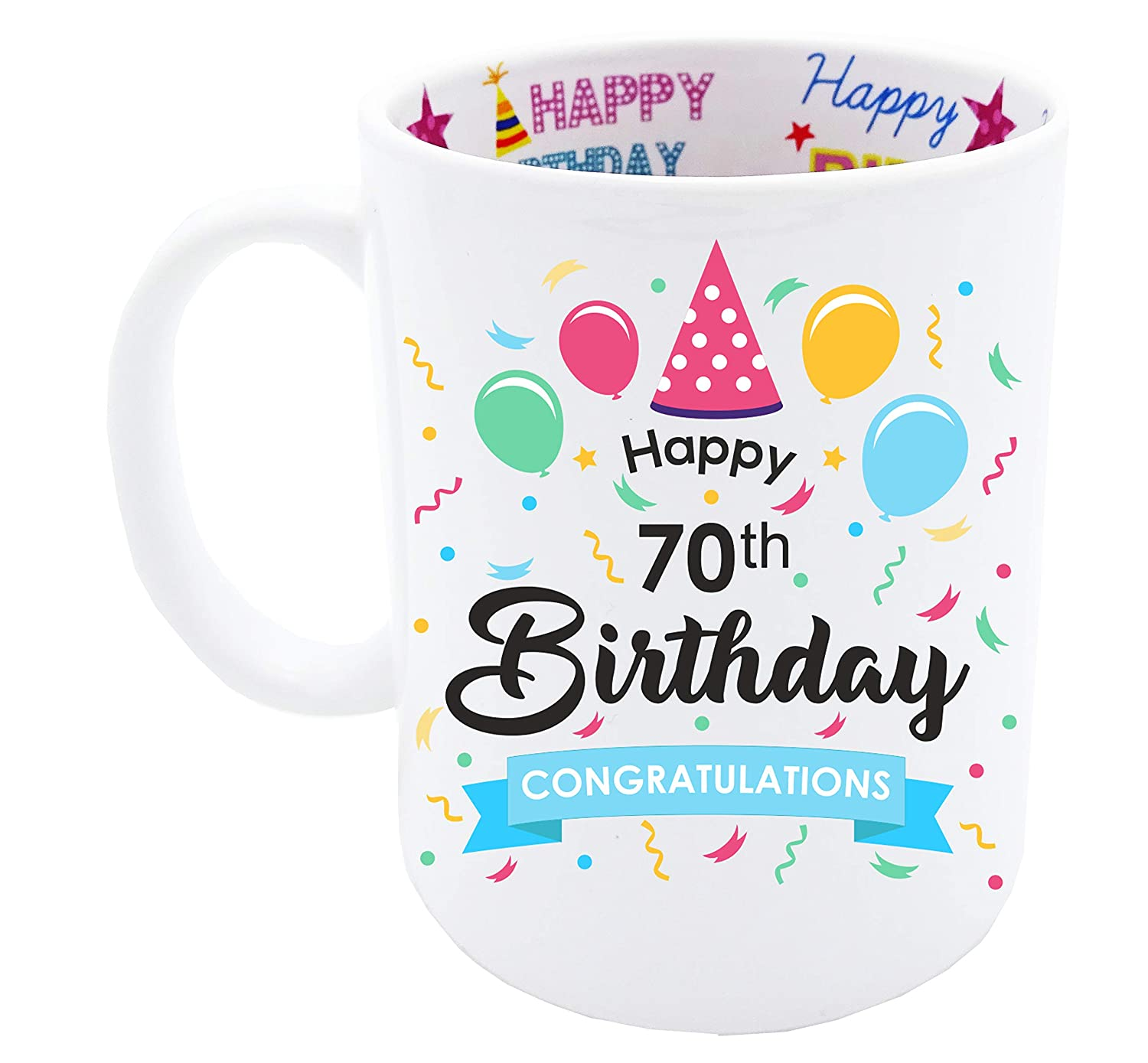 70th Birthday Gift for All items in the store Coffee Mug Men Ranking TOP16 Happy