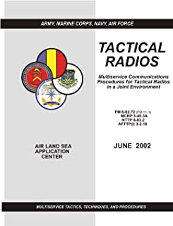Tactical Radios: Multiservice Communications Procedures for Tactical Radio in a Joint Environment (FM 6-02.72 / MCRP 3-40.3A / NTTP 6-02.2 / AFTTP(I) 3-2.18)