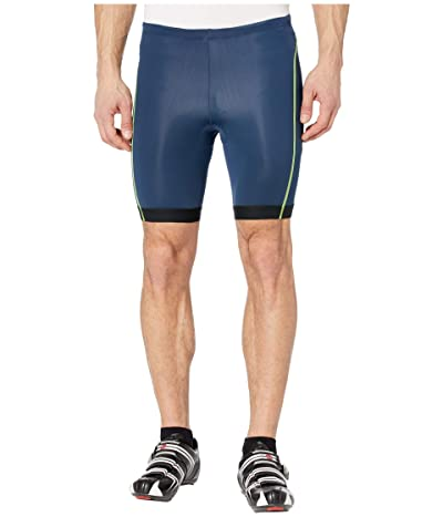 Pearl Izumi Select Pursuit Tri Shorts (Navy/Screaming Yellow) Men