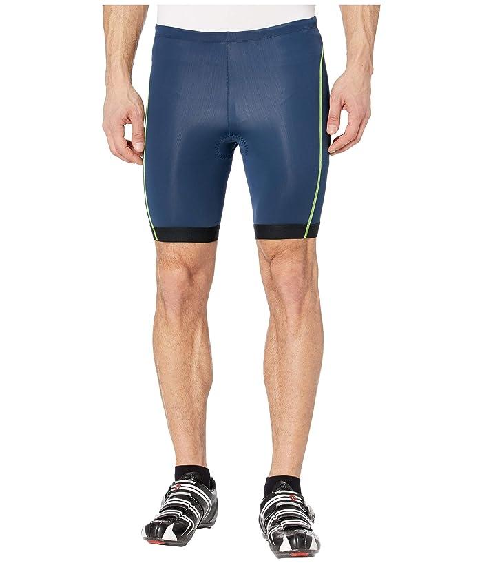 Pearl Izumi  Select Pursuit Tri Shorts (Navy/Screaming Yellow) Mens Shorts