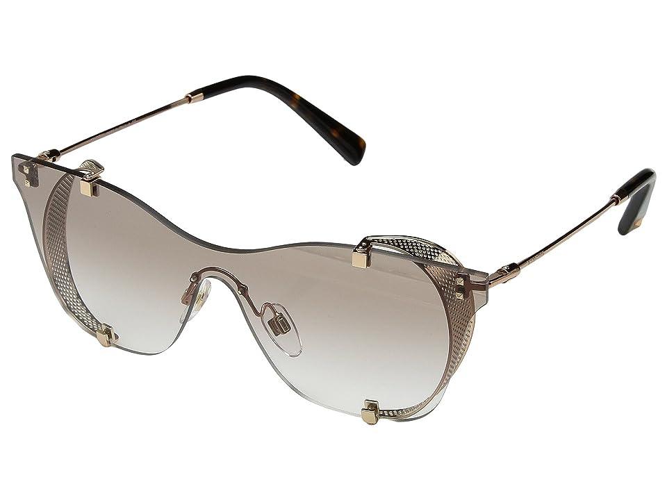 Valentino VA 2016 (Rose Gold/Light Brown Gradient) Fashion Sunglasses
