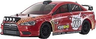 Kyosho FAZER VE-X Lancer Evolution X - T2 Version Vehicle, Red
