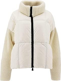 MONCLER Luxury Fashion Womens 9488500C9012034 White Down Jacket   Fall Winter 19