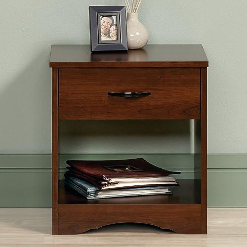 JS Home Decor Sheesham Wood Bed Side End Table for Living Room (Honey Teak Brown)