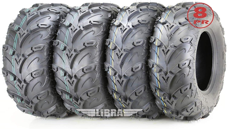 Set 4 Popular product Premium 8PR ATV UTV 24x8x12 famous 24x10-12 24X8-12 Front Tires