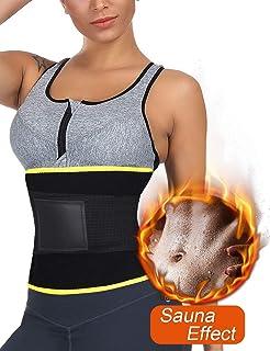 c59e6cdc91 Wonder-beauty Women Waist Trainer Body Shaper Cincher Sport Girdle Belt  Compression Band Belly Wrap