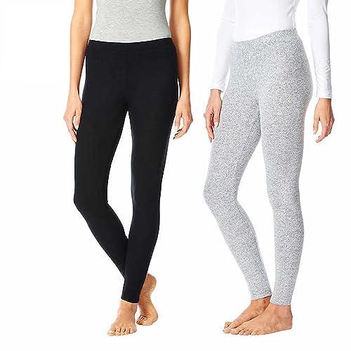 5628afa48c44c9 32 Degrees Heat Womens 2 Pack Lounge Leggings