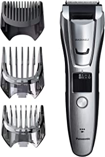 Panasonic Multigroom Beard Trimmer Kit For Face, Head, Body Hair Styling and Grooming, 39 Quick-Adjust Dial Trim Settings, Cordless/Cord, ER-GB80-S, Silver