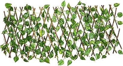 40cm Kunstmatige Garden Plant Fence UV Beschermd Privacy Screen Buiten Binnen Met Omheining van de tuin Backyard Decor van...