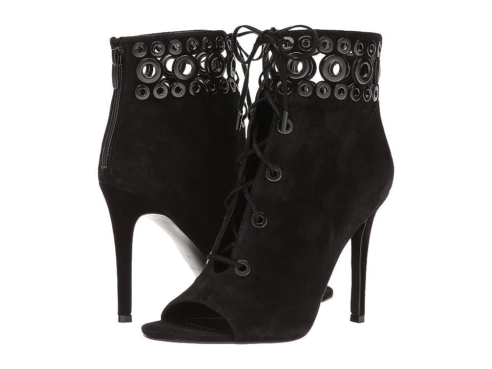 KENDALL + KYLIE Giada (Black Suede) High Heels