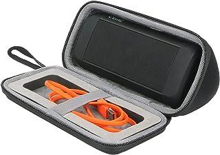 co2crea Hard Travel Case for Cambridge SoundWorks OontZ Angle 3 Ultra/Plus EditionPortable Bluetooth Speaker (Black)