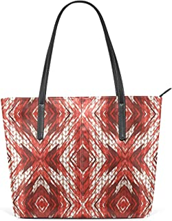 MONTOJ Special Painting Poinsettia Knitting Pattern coach handbags Shoulder Bag