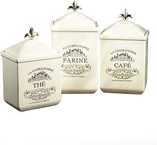American Atelier Maison 3-Piece Cookie Jar Set